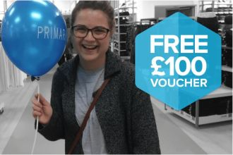BECOME A MYSTERY SHOPPER FOR PRIMARK TO WIN 100 VOUCHER
