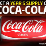 WIN A YEARS SUPPLY OF COKE! (USA)