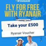 WIN A £500 RYAN AIR VOUCHER! (UK)