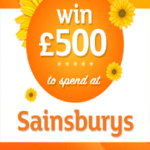 WIN A £500 SAINSBURYS VOUCHER! (UK)