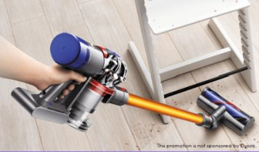 win a dyson vacum cleaner for free