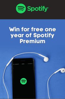 win a year of spotify free-