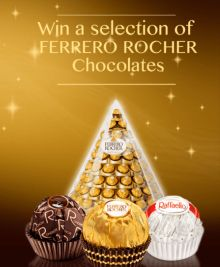win ferrero rocher chocolates-