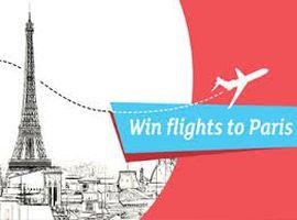 win flights to paris