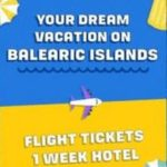 WIN A HOLIDAY TO THE BALEARIC ISLANDS! (UK)