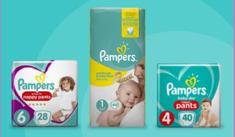 win pamers nappies