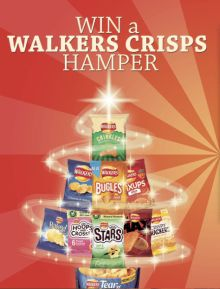 win walkers crisps hamper