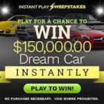 WIN A CAR WORTH $150,000 FOR FREE -SWEEPSTAKES! (USA)