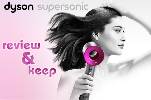 win a dyson super sonic hairdryer