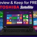 WIN A TOSHIBA SATELLITE NOTEBOOK FOR FREE! (UK)