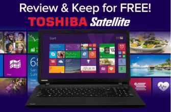 win a toshiba satellite notebook for free