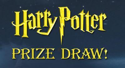 harry potter prize draw