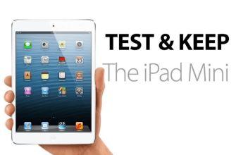 test and keep mini ipad for free