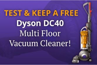 win a dyson vacuum cleaner