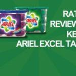 RATE,REVIEW & KEEP FREE ARIEL EXCEL TABS! (UK)