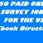 450 PAID ONLINE SURVEYS EBOOK DIRECTORY (USA)