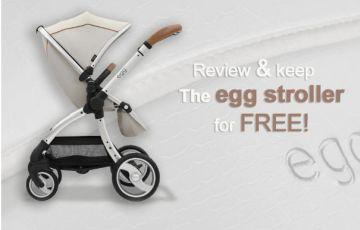 win an egg stroller for free