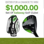 WIN $1000 CALLAWAY GOLF CLUBS FREE! (US)