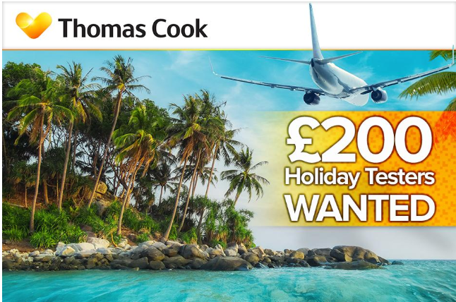 win a thomas cook cruise for free