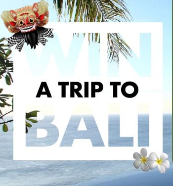 win a trip to bali au