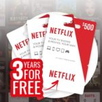 WIN 3 YEARS OF FREE NETFLIX! (AU)
