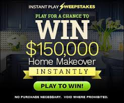 win $150,000 home makeover