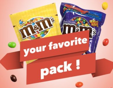 win m&ms free sweepstakes