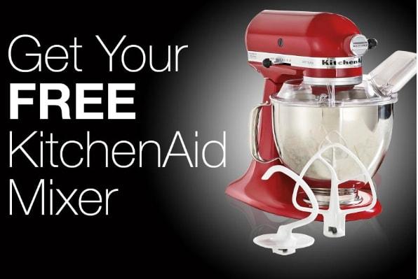win free kichen aid mixer