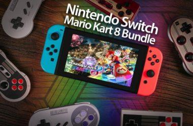 win free nintendo switch bundle with mario kart 8